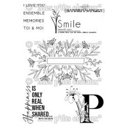 "Planche de tampons ""Smile"""