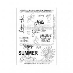 """Planche de tampons """"Summer"""""""